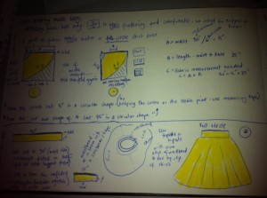 Super Easy Full and Half Skirt Instructions for Beginners who like to feel and look pretty!